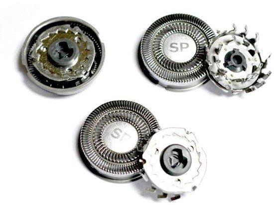 Shaver-Parts SH50  3 Głowice do golarki Philips serii S 5xxx od S 5000 do S 5999