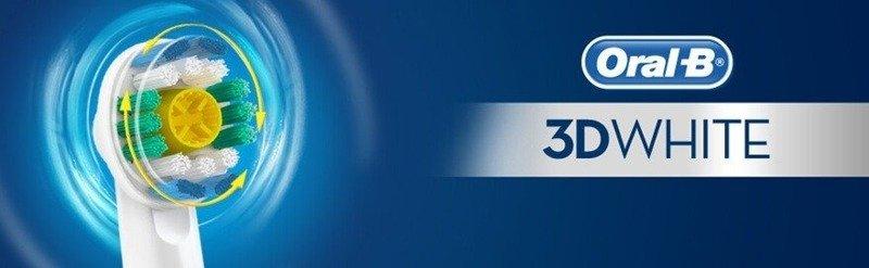 2 Końcówki ORAL-B 3D WHITE EB18P-2 100% ORYGINAŁ