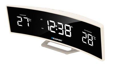 BLAUPUNKT CR12WH Radio-budzik z zewnętrznym i wewnętrznym termometrem