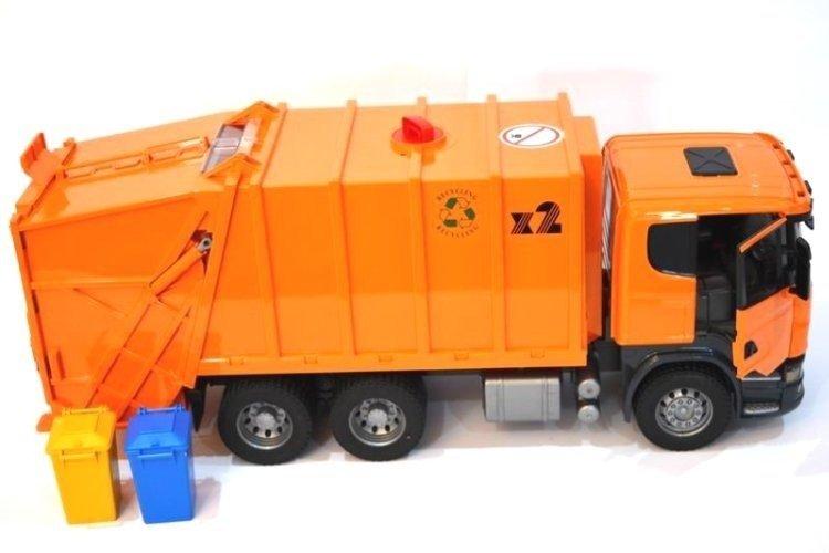 BRUDER 03560 Śmieciarka Scania