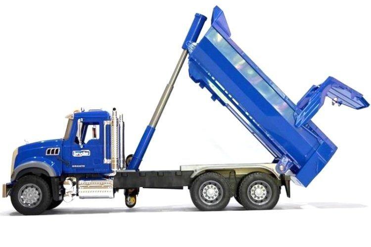 Bruder 02823 Mack ciężarówka z wywrotką duża 60cm