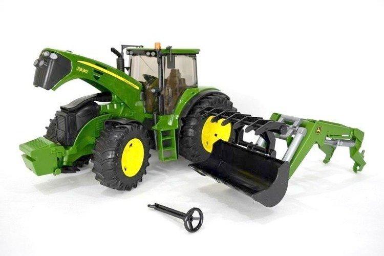 Bruder 03051 traktor John Deere z ładowaczem 24h
