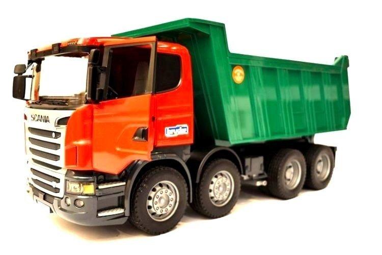 Bruder 03550 ciężarówka z wywrotką Scania