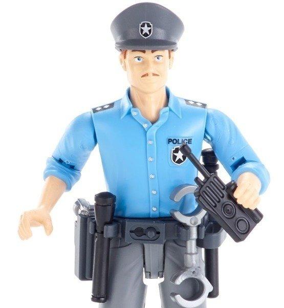 Bruder 60050 figurka policjant z akcesoriami 11cm