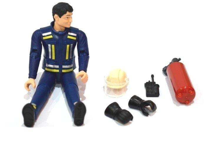 Bruder 60100 Figurka strażaka z akcesoriami bWorld