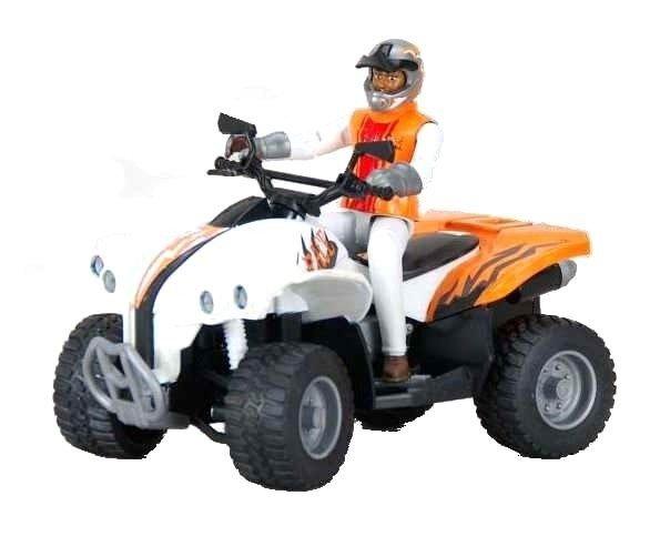 Bruder 63000 Quad z kierowcą Figurka bWorld