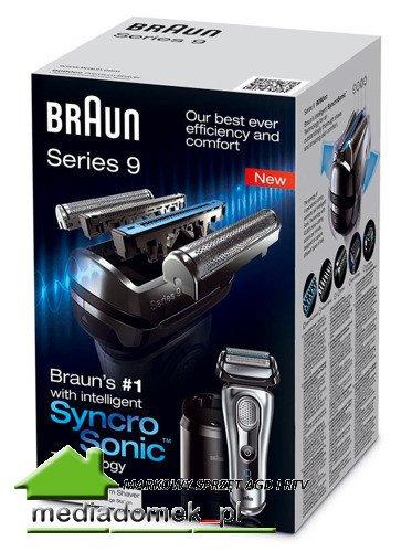 Golarka Braun Series 9 9090cc Stacja czyszcząco-ładująca