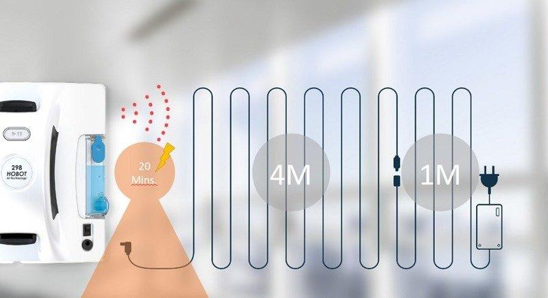 Hobot 298 Robot do mycia okien,płytek,szkła