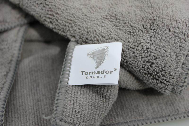 TORNADOR® DOUBLE RĘCZNIKI POLERSKIE (2W1 DWA RĘCZNIKI W JEDNYM)