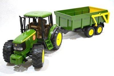 Bruder 02058 Traktor z przyczepą John Deere zestaw