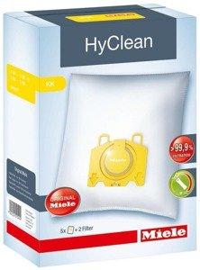 Miele HyClean KK 3D S190 Zestaw 5 worków + 2 flitr